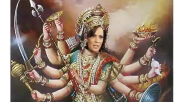 Kamala-Harris-Durga-Meme